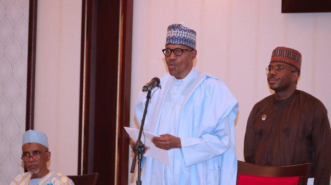 Buhari reinstates three suspended permanent secretaries
