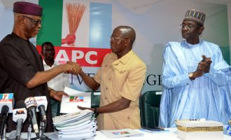 Oshiomhole's election: PDP ignorant of electoral rules, says APC