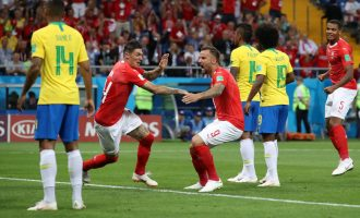 Switzerland stand firm, deny Neymar and Brazil