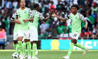 Super Eagles player ratings vs England