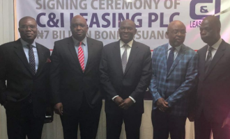 C&I Leasing's N7bn bond 'oversubscribed by 133%'