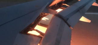 Team Saudi Arabia plane catches fire in mid air
