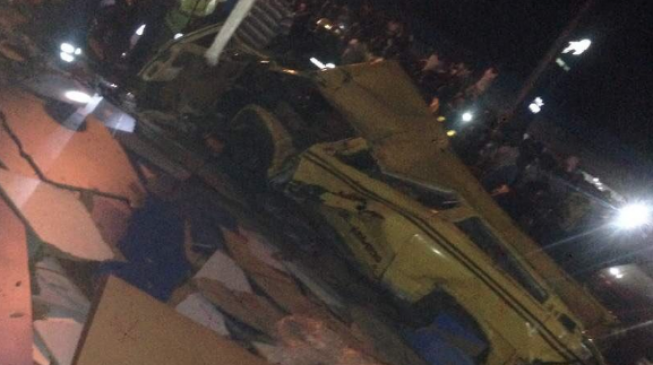 'Many killed' as truck falls on commercial buses at Ojuelegba