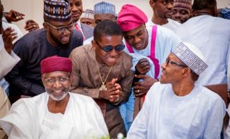 PHOTOS: Small Doctor, Sound Sultan, Kunle Afolayan… celebrities dine with Buhari