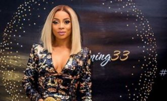 Toke Makinwa under fire for saying chivalry is having bills paid by men