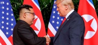 Trump meets North Korean leader, says summit going 'better than expected'