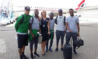 Super Eagles arrive Austria for final pre-World Cup friendly