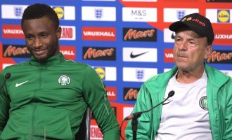 Rohr: Eagles physically, mentally ready for Croatia