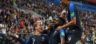 PHOTOS: France pip Belgium to final spot