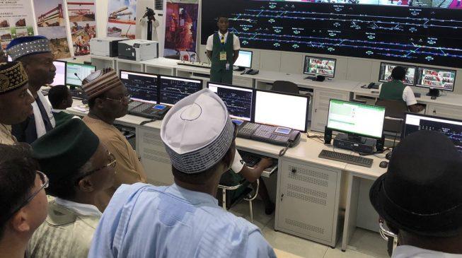PHOTOS: Buhari inaugurates Abuja light rail