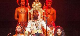 Adekunle Gold gives culturally rich performance at sold-out London concert