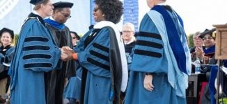 PHOTOS: Chimamanda Adichie receives honorary degree from Duke University