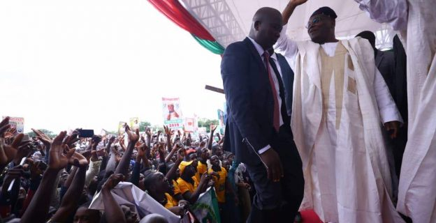 Images from Atiku's presidential declaration in Adamawa