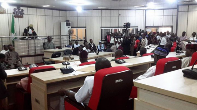 Benue lawmakers bicker on live TV over Ortom's impeachment notice