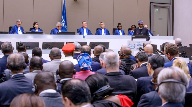 PMB at ICC: Proud to be Nigerian