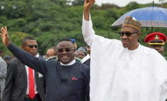 PDP governor to accompany Buhari to Togo