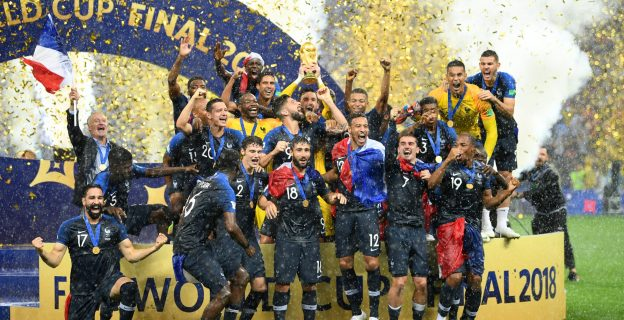 20 years later, Les Bleus again crowned champions of the world