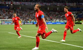 PHOTOS: England through to the quarter-finals after beating Colombia