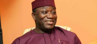 Osun rerun: Fayemi leads APC chieftains to Omisore's residence