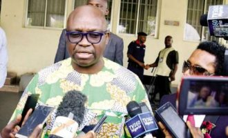 'My security men have been withdrawn' — Fayose says he is being harassed