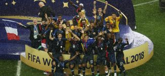 PHOTOS: France emerge victorious at the World Cup final