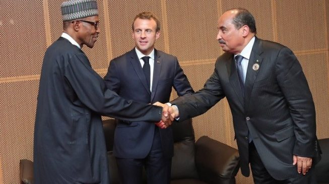 France can't solve Nigeria's insecurity problem, says Macron