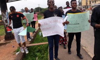 Nigerians protest killings, ask Buhari to end avoidable deaths