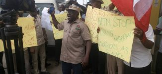 MTN shuts Abuja office over NLC protests