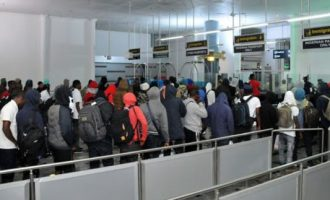 155 Nigerians stranded in Russia arrive Abuja