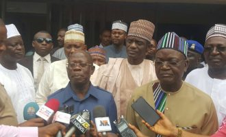 I'm still in APC, says Ortom after 'secret talks' with PDP leaders
