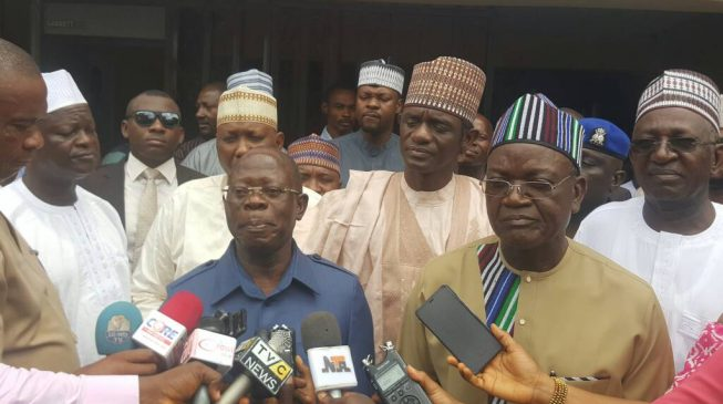 Ortom writes Oshiomhole: Retract allegations or get sued