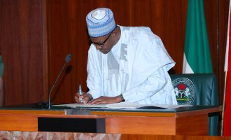 Buhari rejects five national assembly bills