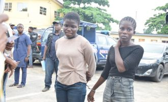 Police parade teenager who 'faked her kidnap'