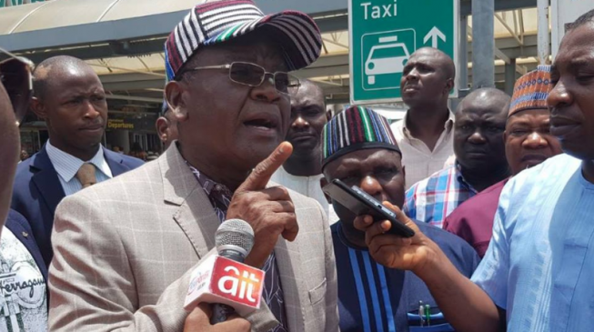 'Why me?' — Ortom asks EFCC over probe of security vote