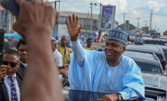 I did everything possible to reconcile with APC, says Saraki as he returns to PDP