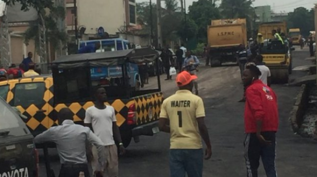 'Please visit Badagry so our roads can be fixed' — Lagosians react to Macron's visit to Afrika Shrine