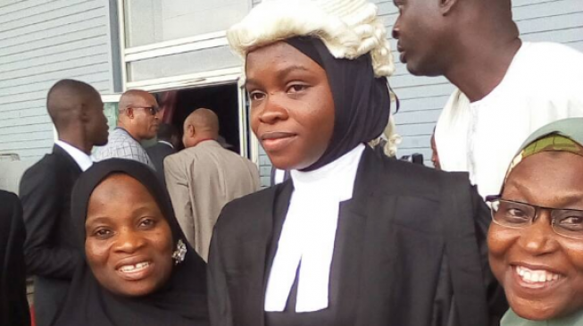 Image result for God used me to break hijab barrier among lawyers - Amasa Firdaus