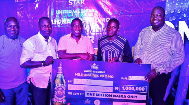 'How a bottle of beer changed my life' — winner of Star Lager millionaires promo