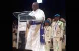 TRENDING VIDEO: Obasanjo inspects 'military parade' on pulpit