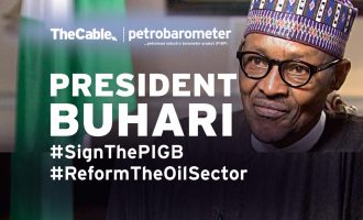 It's time to #SignThePIGB and #ReformTheOilSector, Mr. President!