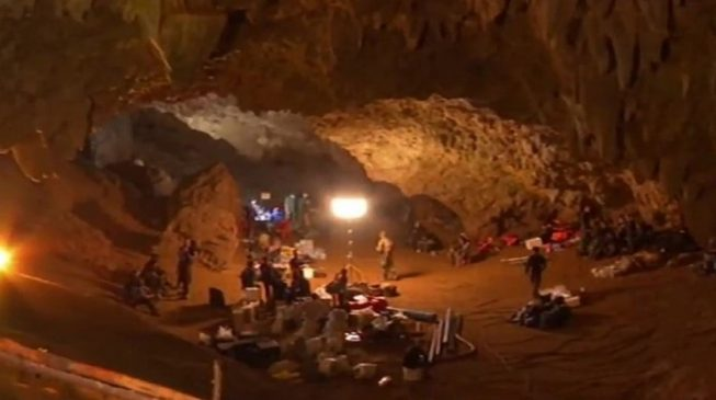 All 12 boys rescued from Thailand cave
