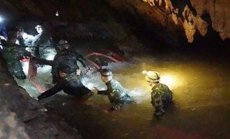 Four boys rescued from Thailand cave — after two weeks