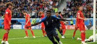VIDEO: Umtiti heads France into World Cup final