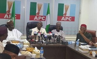 Oshiomhole: We didn't push Ortom out