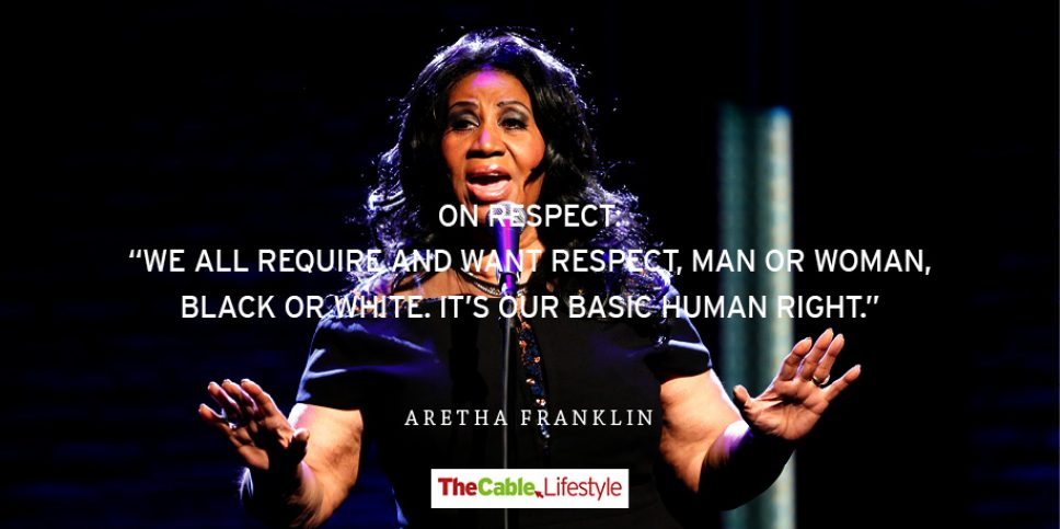 On life, faith, music and her legacy… 15 best quotes of Aretha Franklin
