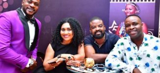 PHOTOS: Nollywood's finest turn up for AMVCA nominees' cocktail party