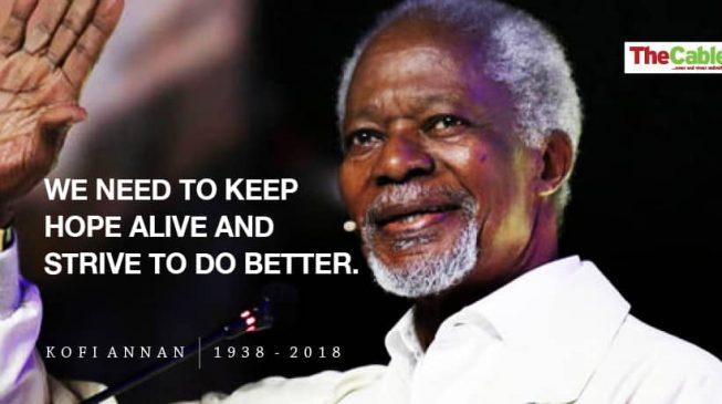 Kofi Annan's unmet wishes