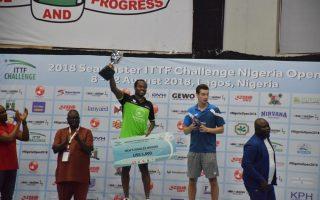 Aruna Quadri shines at Nigeria Open