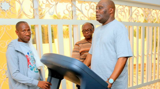 Atiku: I regularly jog more than a mile but won't ask Nigerians to elect me based on that