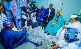 Ayefele: Ajimobi said he would have prevented the demolition if we had begged him